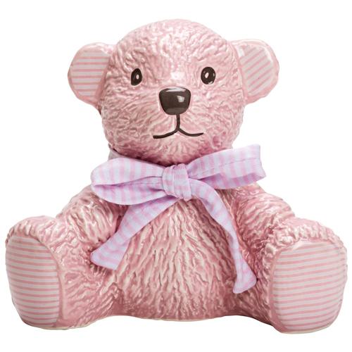 Hug-a-Boo Ceramic Money Bank Pink