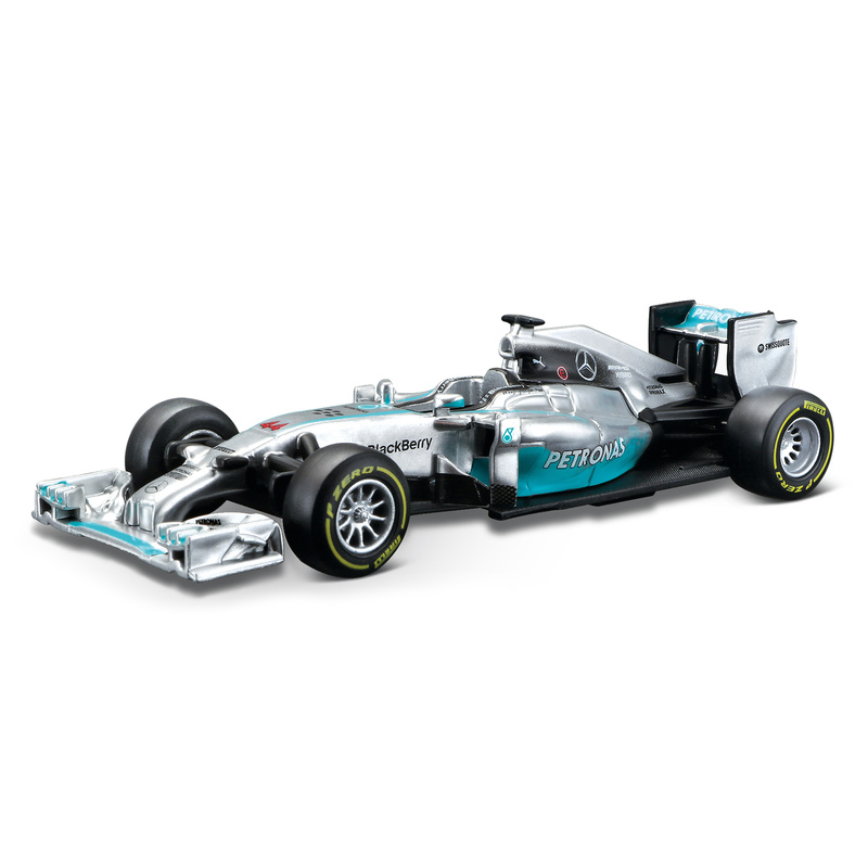 1 43 f1 2014 mercedes amg lewis hamilton only toy street for Mercedes benz f1 shop