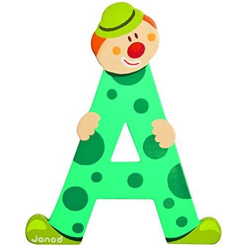 A Clown Alphabet Individual Letter