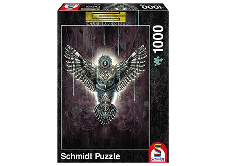 Chris Saunders: Wise Owl Jigsaw (1000Pc) | Toys | Toy Street UK