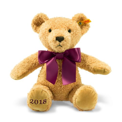 Cosy Year Bear 2018, Golden Brown