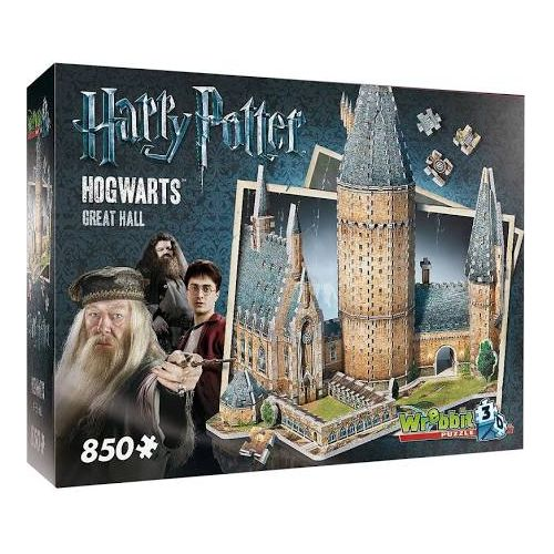 Hogwarts: Great Hall 3D Puzzle (850Pc)