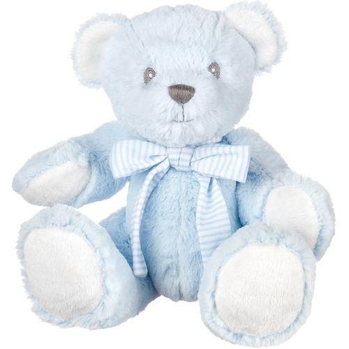 Hug-A-Boo Blue Bear With Rattle