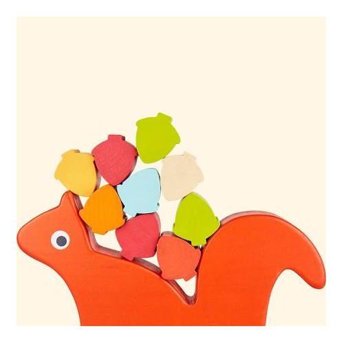 Nutty Squirrel Wooden Balance Game Toy