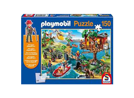 Playmobil: Tree House Jigsaw With Playmobil Figure (150Pc)