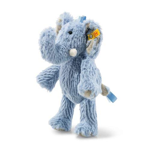 Soft Cuddly Friends Earz Elephant, Blue 20Cm