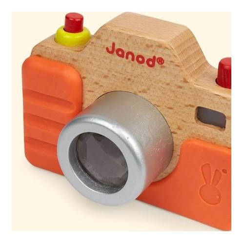 Wooden Camera With Sounds Wooden Camera