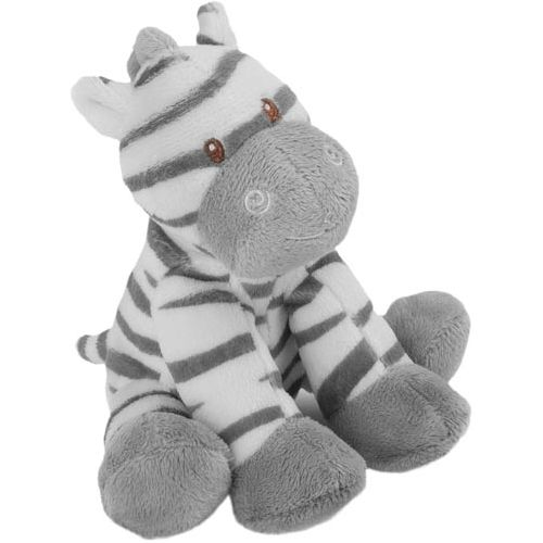 Zooma Zebra With Rattle