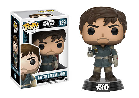 Funko Pop! Star Wars Rogue One: Captain Cassian Andor