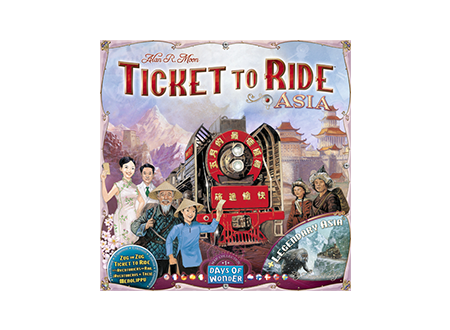 Ticket To Ride Asia: Map Collection