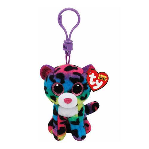 TY Dotty Leopard - Boo Key Clip