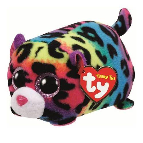 Jelly Multi Colour Leopard Teeny TY