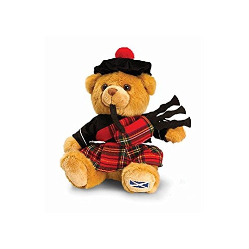 19cm Scottish Piper Bear