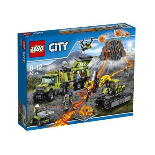 LEGO City Volcano Exploration Base (60124)