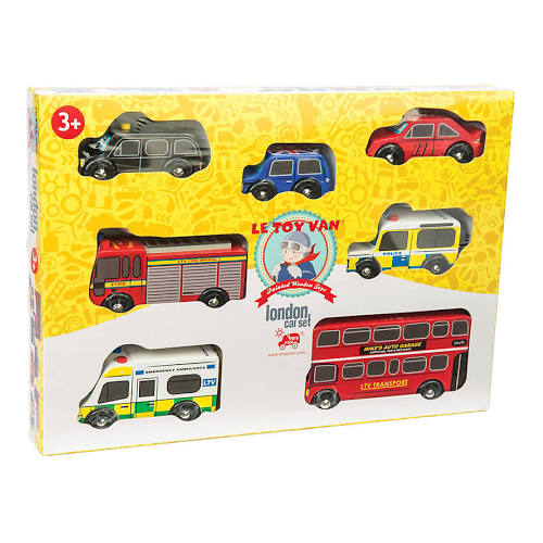 Le Toy Van The London Car Set (LTV267)