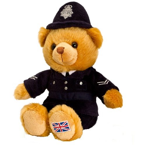 London Policeman Bear 15Cm