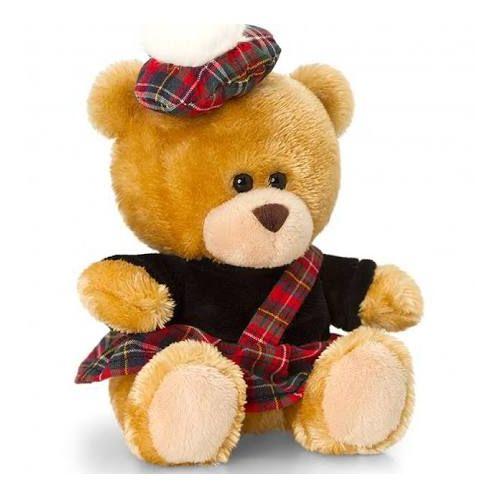 Pipp The Bear Scottish Piper 14Cm