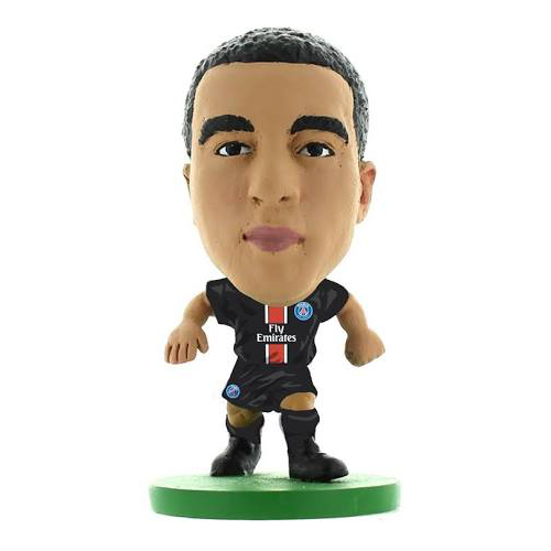 Soccerstarz Paris St Germain Lucas Moura Home Kit (2017