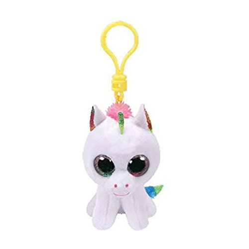 TY Pixy Unicorn - Boo Key Clip