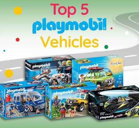 Top 5 Playmobil Vehicles