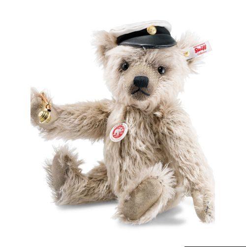 Captain Keith Teddy bear, caramel