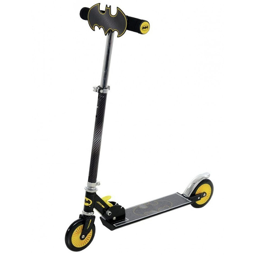 Batman Folding In-line Scooter with Plaque