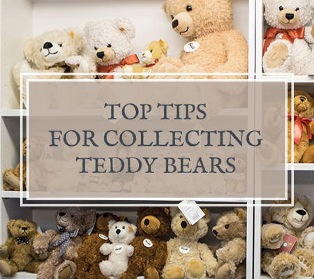 Top Tips For Collecting Teddy Bears