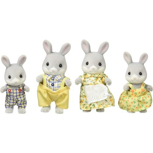Cottontail Rabbit Family