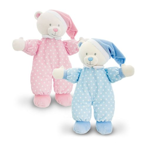 25cm Baby Goodnight Bear 2 Asstd - (One Supplied)