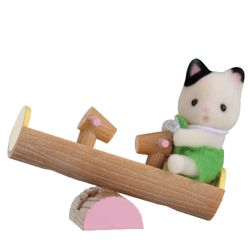 Baby Carry Case (Cat on See-saw)