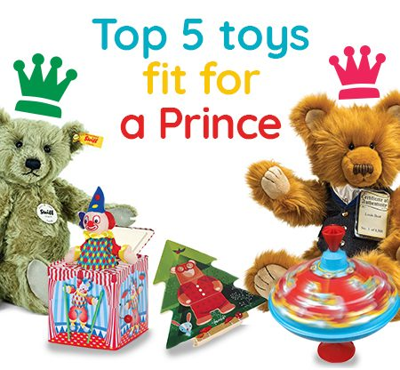 Top 5 Toys Fit For A Prince