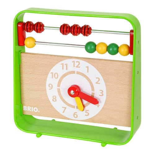Abacus with Clock