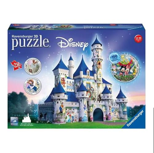 Disney Castle 3D Puzzle, 216pcs