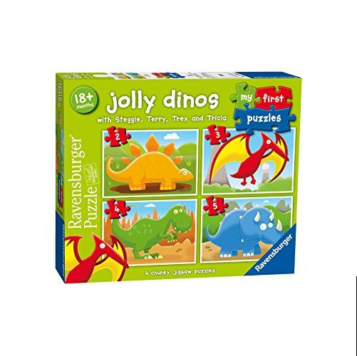 Jolly Dinos My First Puzzles (2,3,4,5pc)