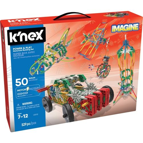 Power & Play 50 Model Motorised Building Set