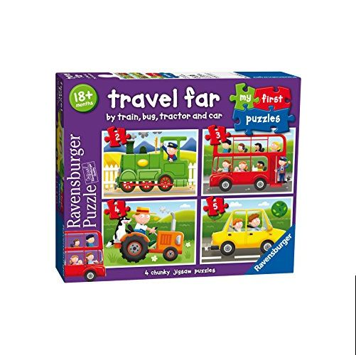 Travel Far My First Puzzles (2,3,4,5pc)