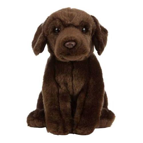 9'' Floppy Chocolate Labrador