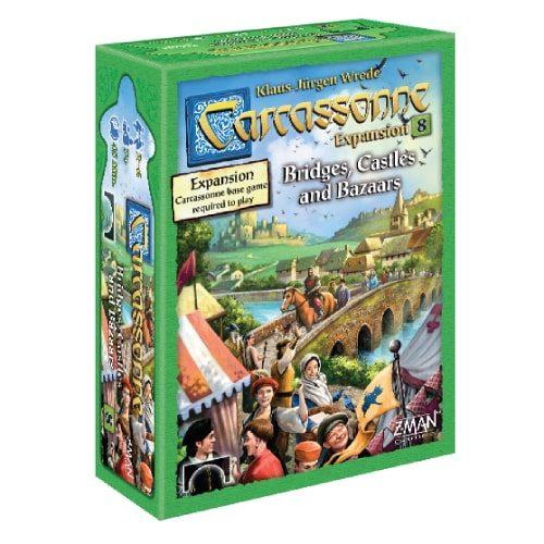 Bridges, Castles & Bazaars: Carcassonne Exp 8