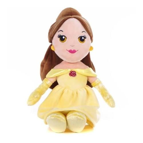 "Disney Princess Cute 10"" Belle Soft Doll"