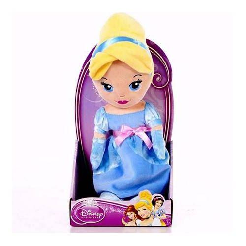 """Disney Princess Cute 10"""" Cinderella Soft Doll"""
