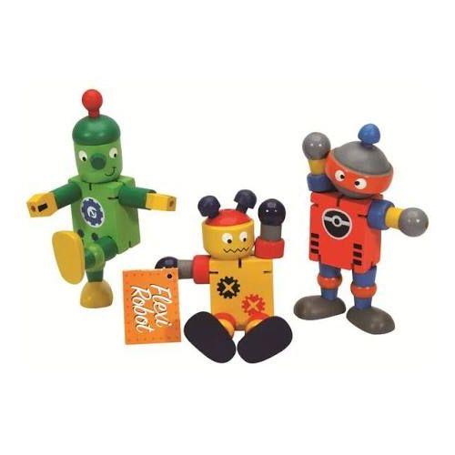 Wood Flexi Robot 18m+