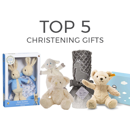 Top 5 Christening Gifts