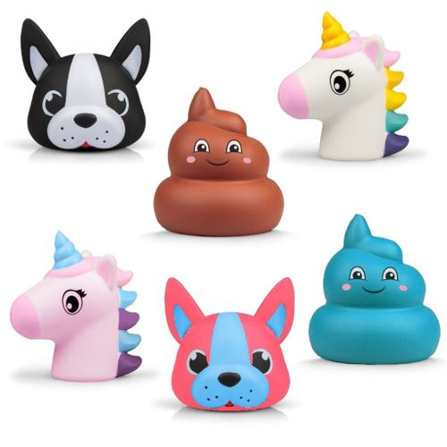 Squishy Puffems - Crazy Characters