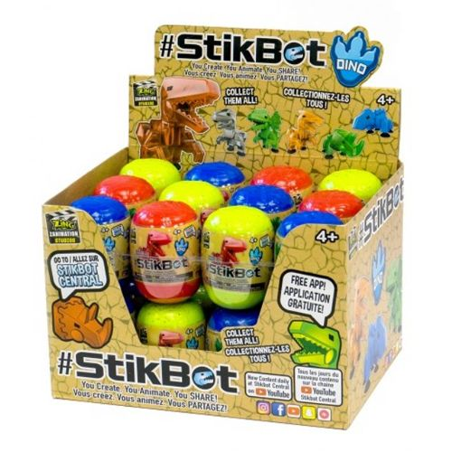 StikBot Dino Eggs Assortment