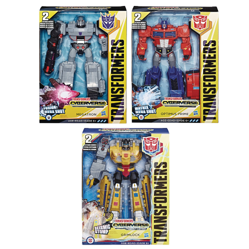 Transformers Cyberverse Ultimate Assortment (One Supplied)