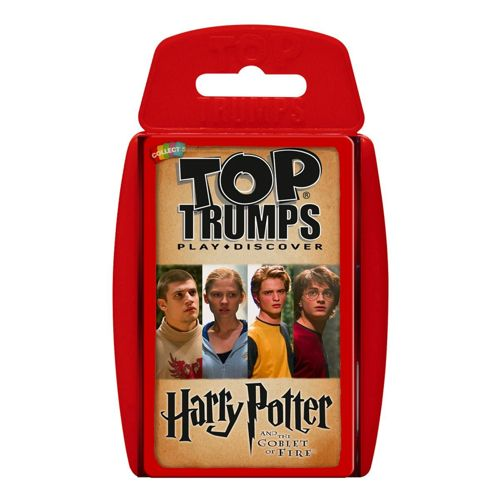 Harry Potter and The Goblet of Fire - Top Trumps Specials