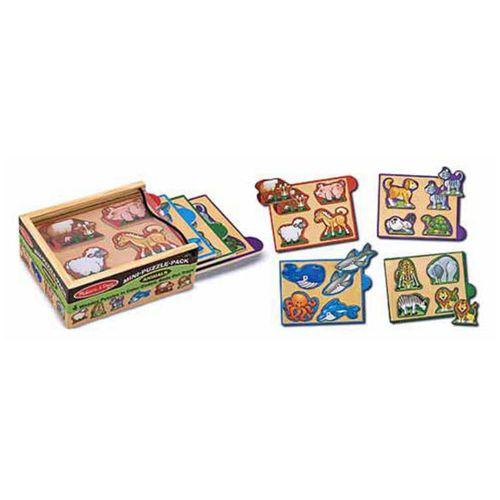 Animals Mini Puzzle Pack