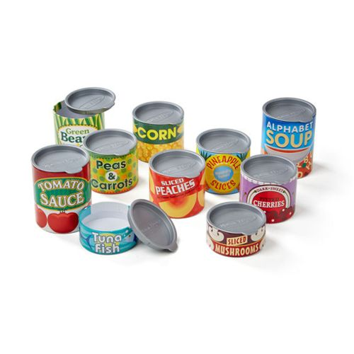 Canned Food Play Set