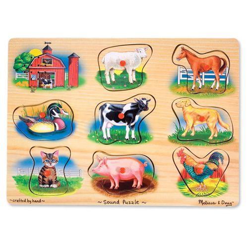 Classic Farm Sound Puzzle