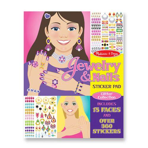 Jewellery & Nails Sticker Pad